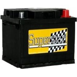 Autobaterie SUPERSTART 12V 62Ah 450A