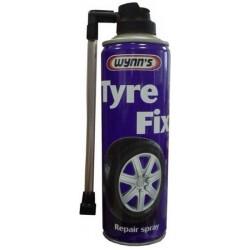Sprej na opravu defektů a nouzové dohuštění pneumatiky