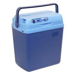 Chladící box 25litrů BLUE 220/12V LED ukazatel teploty