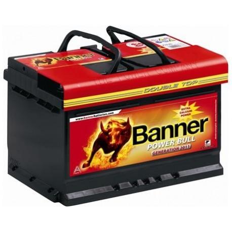 Autobaterie Banner Power Bull 62Ah 540A